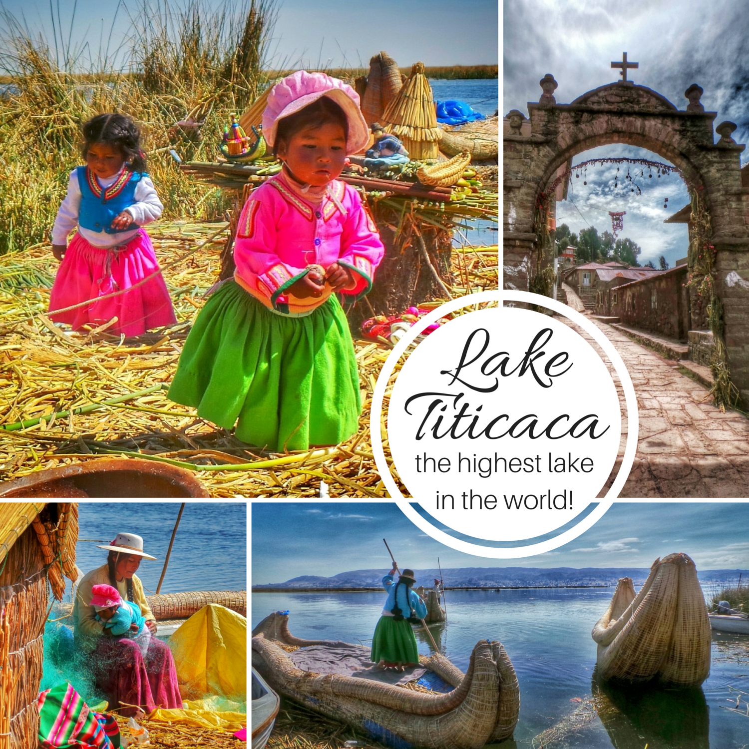 Lake Titicaca (the highest lake in the world) | HOLE STORIES