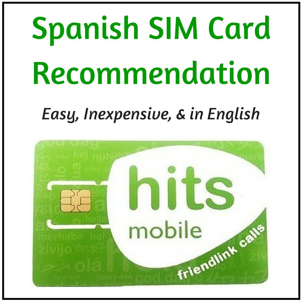 Spanish Sim Card #2