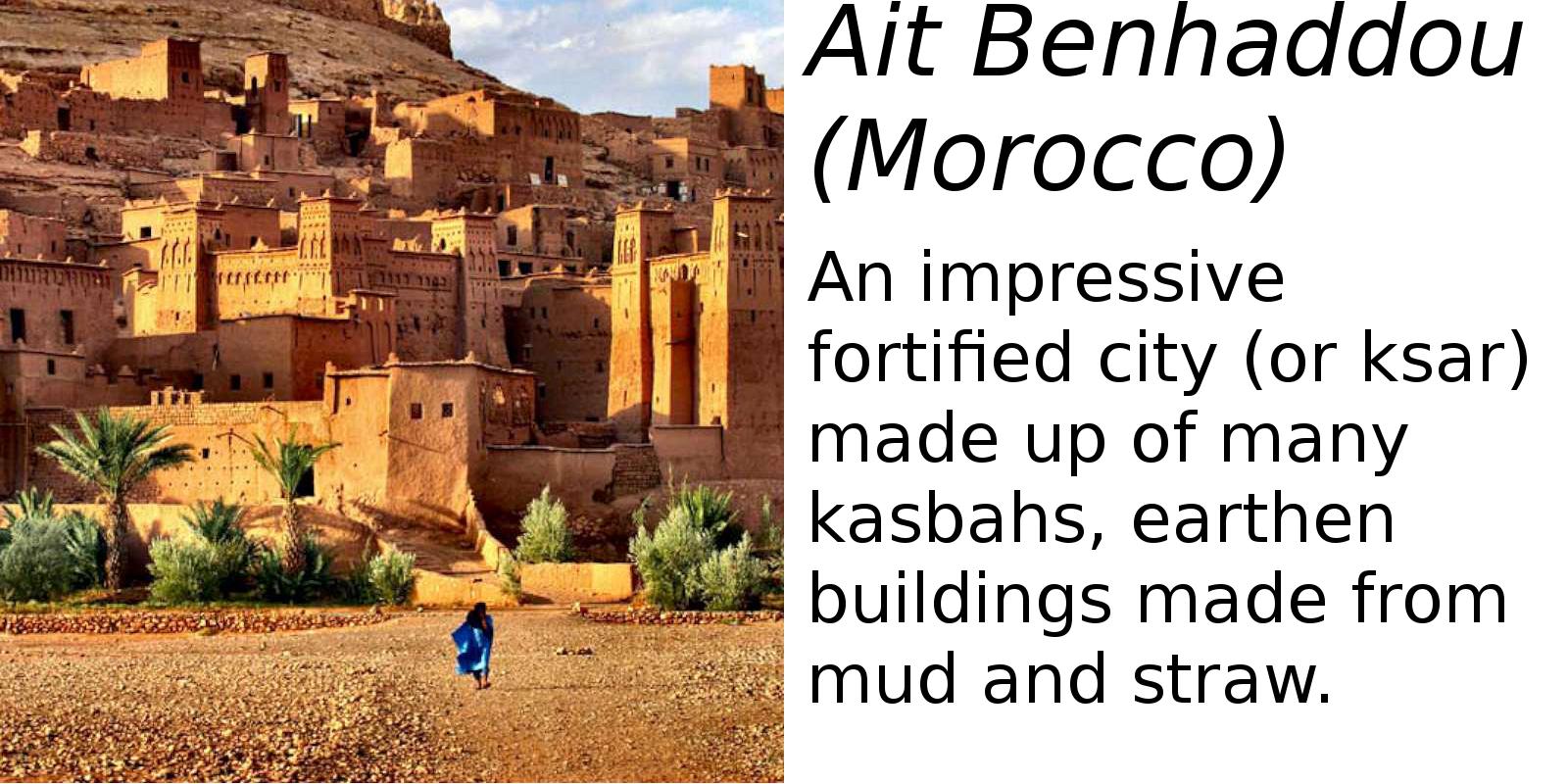 Ait Benhaddou, Morocco (description) #2