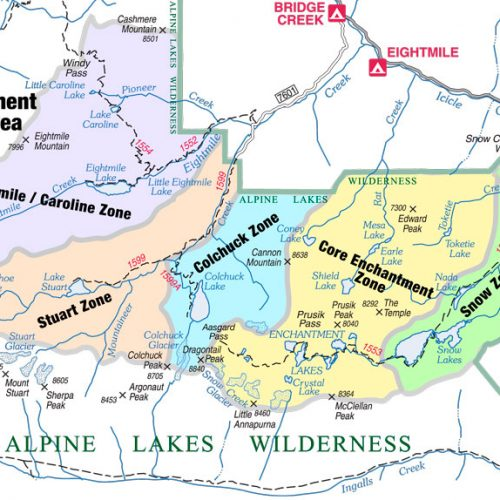 Enchantment Permit Area Zones
