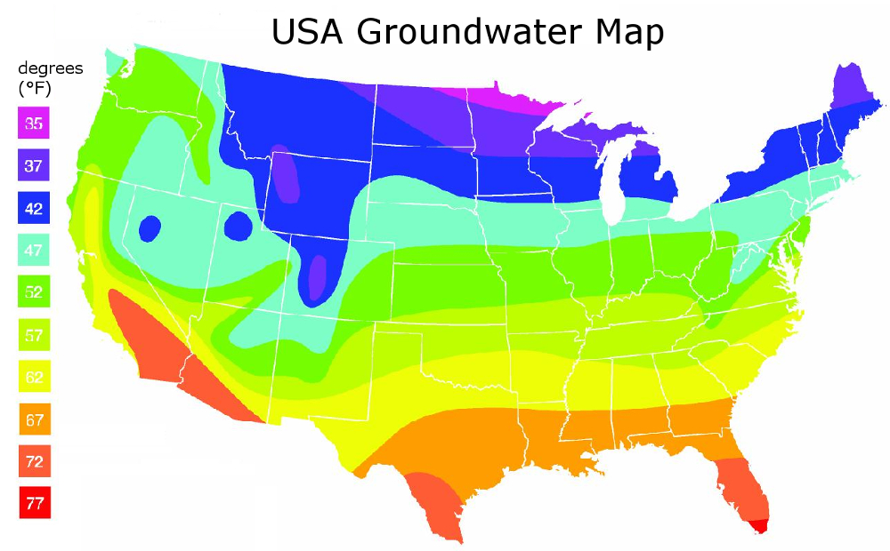 Ground water Map
