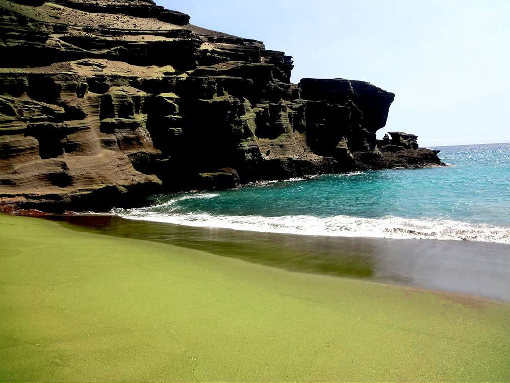 Green Sand Beach - HOLE STORIES