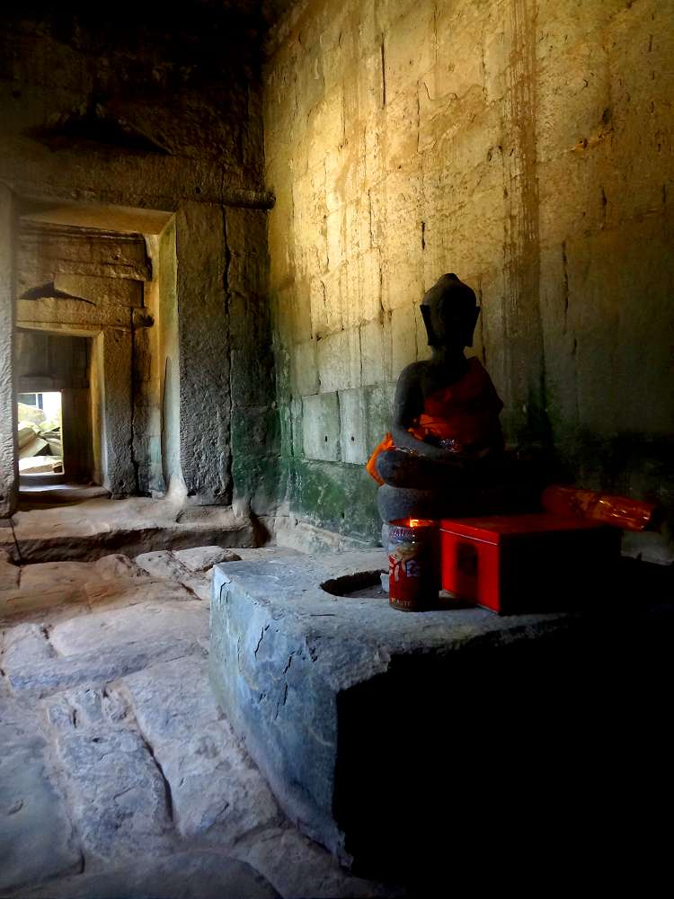Ta Prohm Temple, Cambodia     HOLE STORIES