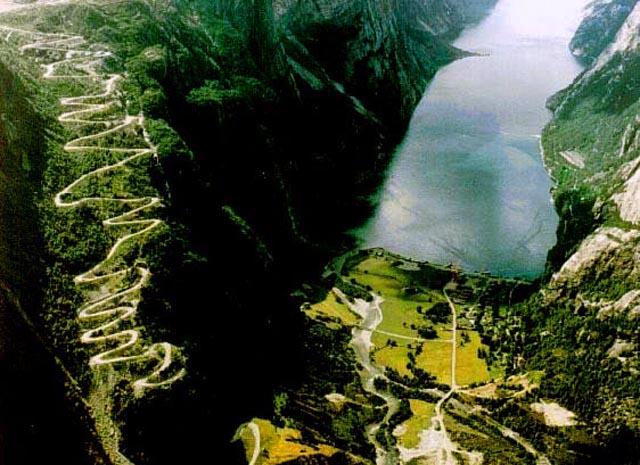 Lysebotn Road Norway