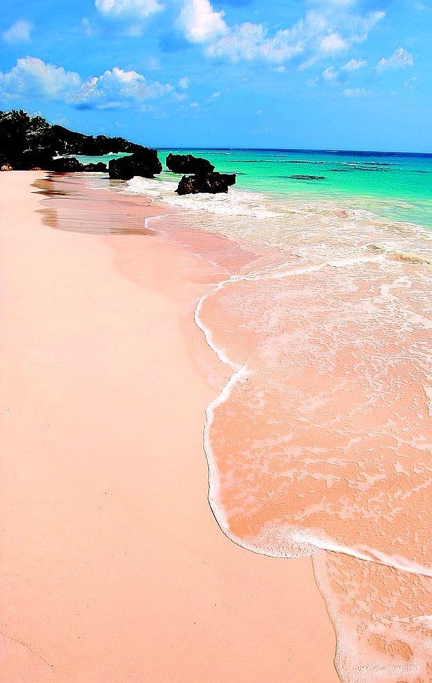 PInk-Sand-Beach, Bermuda-